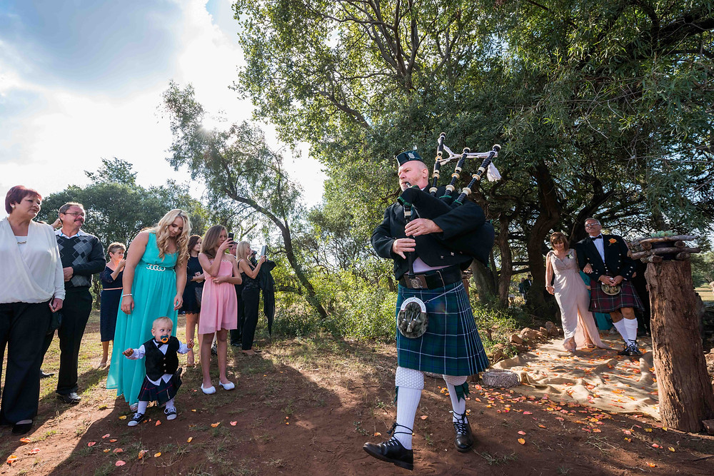 scottish styled weddings