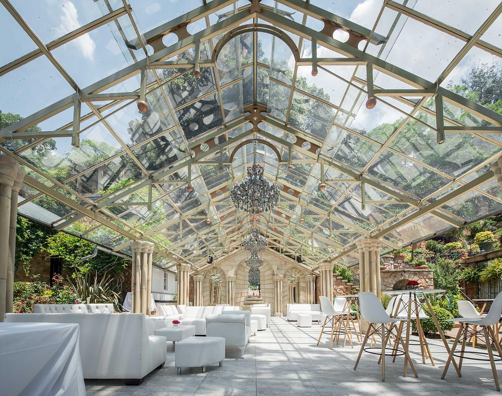Shepstone Gardens glass house