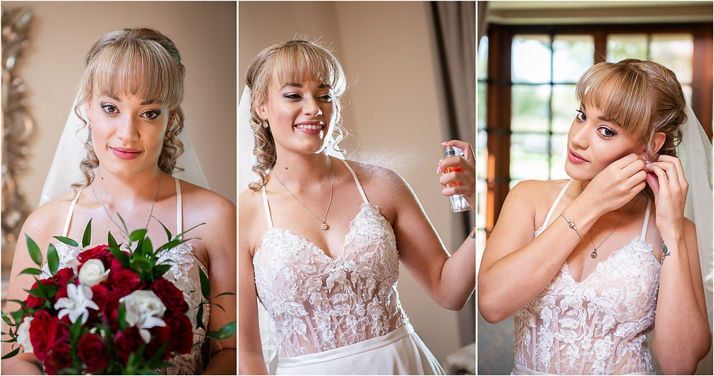 bridal portraits at oakfield