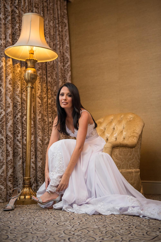 bridal preparation photos