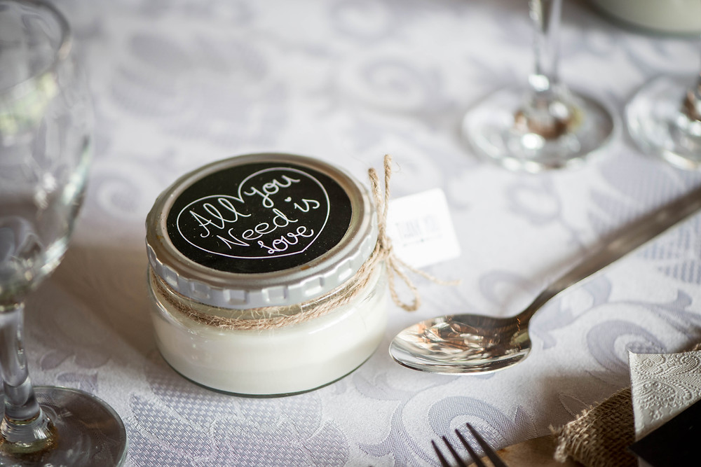 wedding candle gift ideas