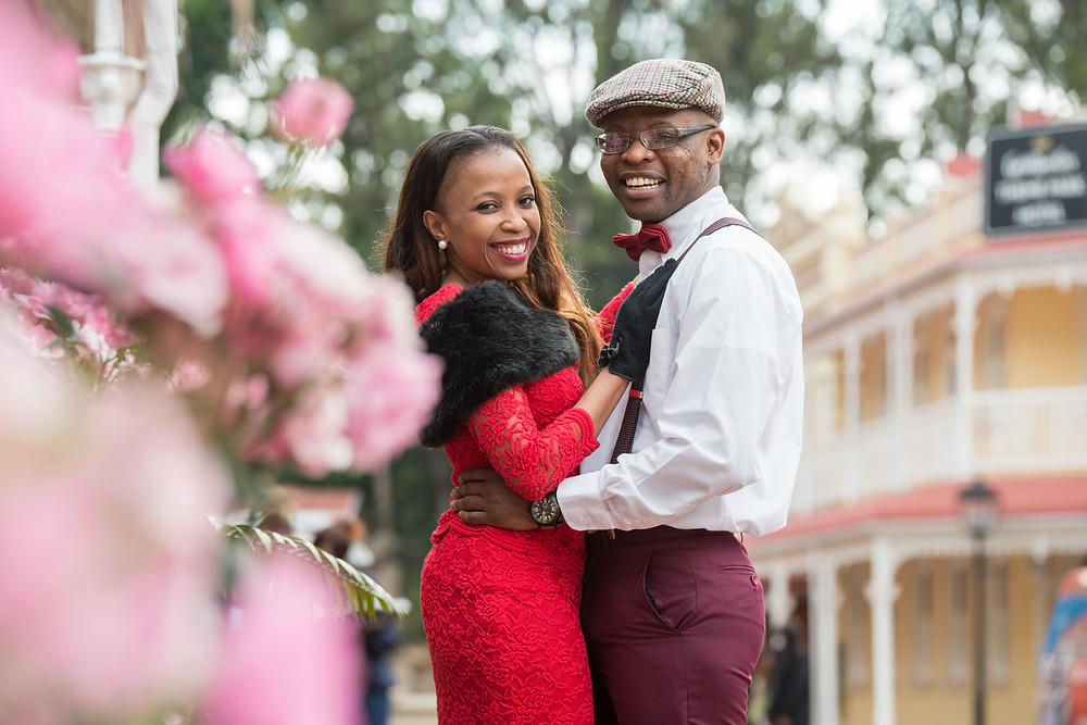 Pre Wedding shoot at Gold Reef City