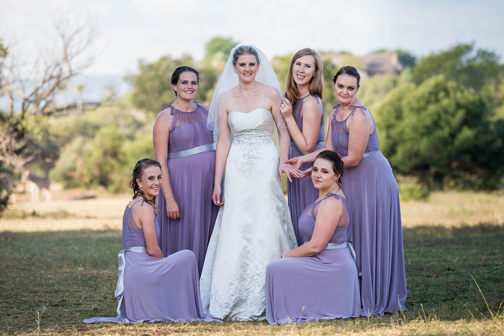 cute bridal party photos