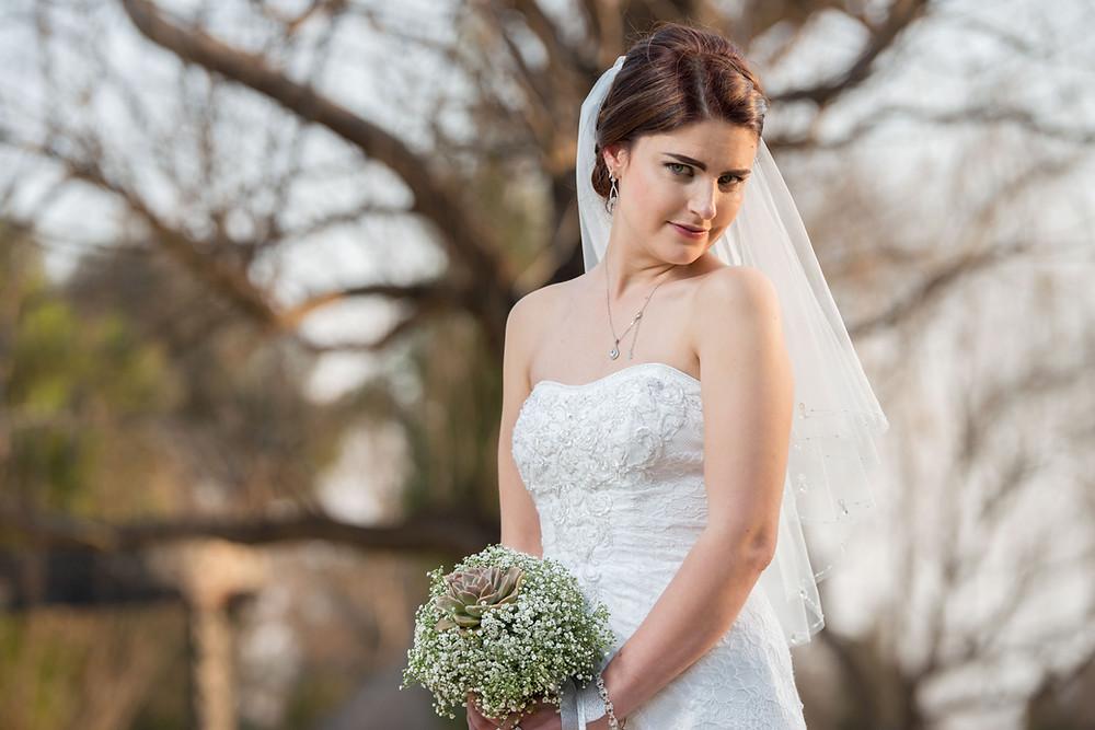 gorgeous bridal portraits