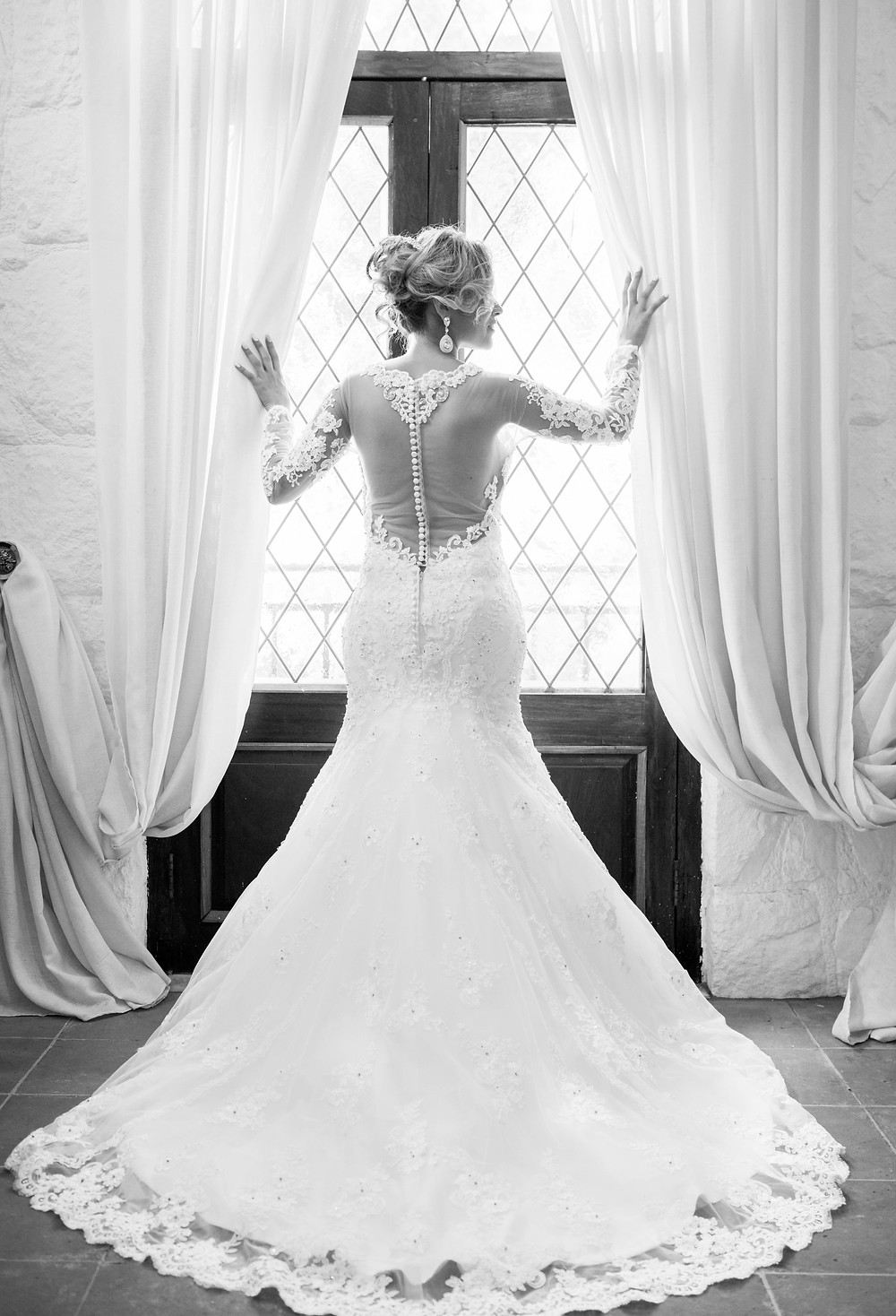 elegant wedding photography at Shepstone Gardens