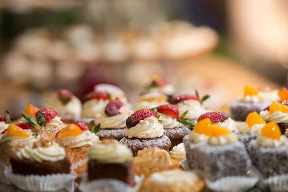 desert at weddings