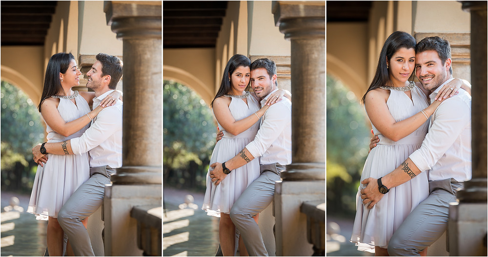 couple photo shoot at Green Leaves Country Hotel