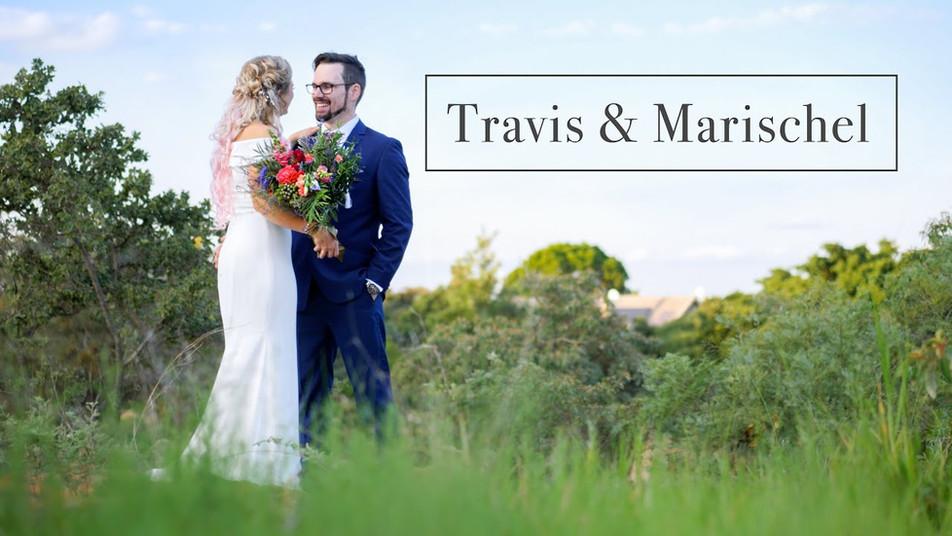 Travis and Marischels Wedding video at Venue Nouveau