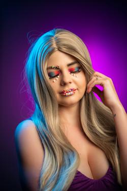 Candy makeup photoshoot Johannesburg