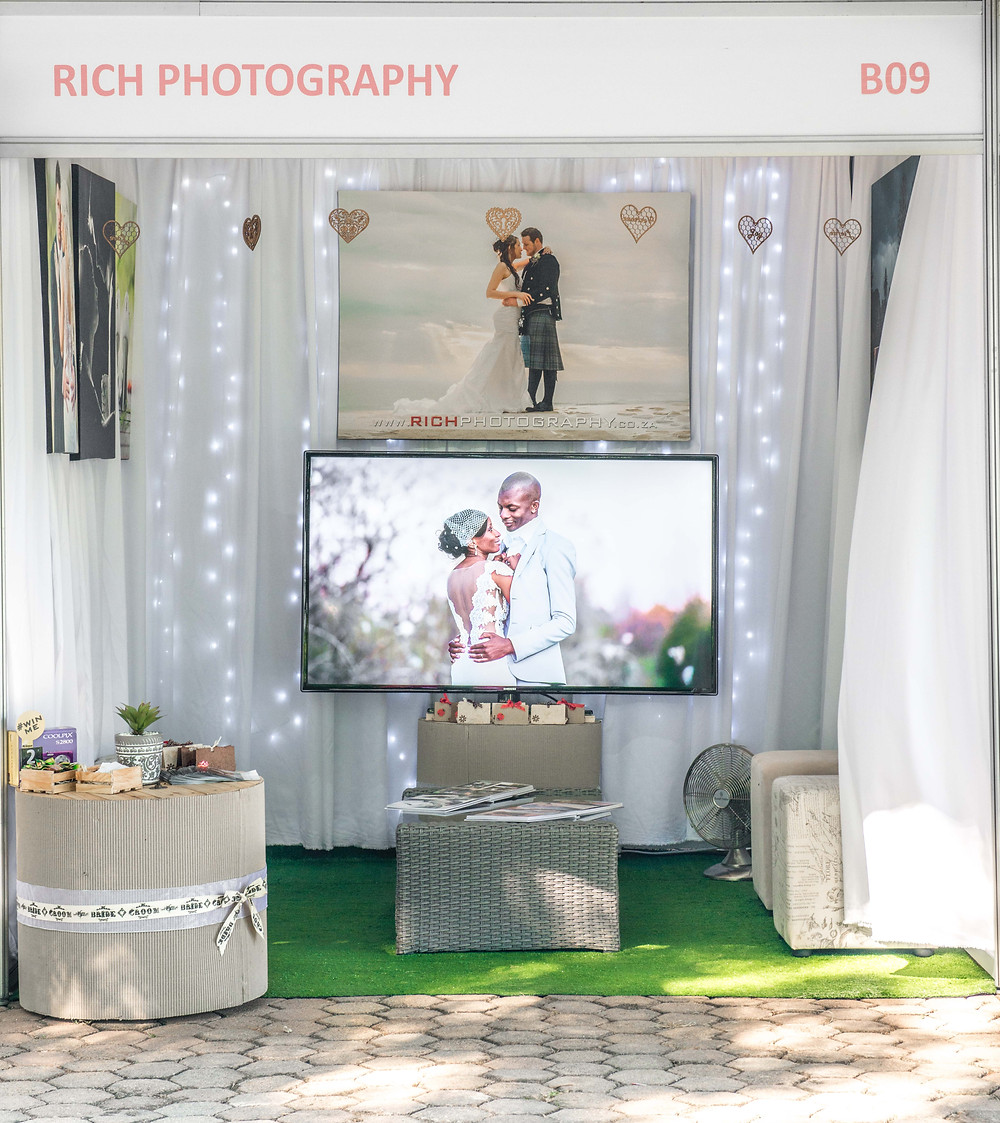 Oakfield Bridal Expo stand