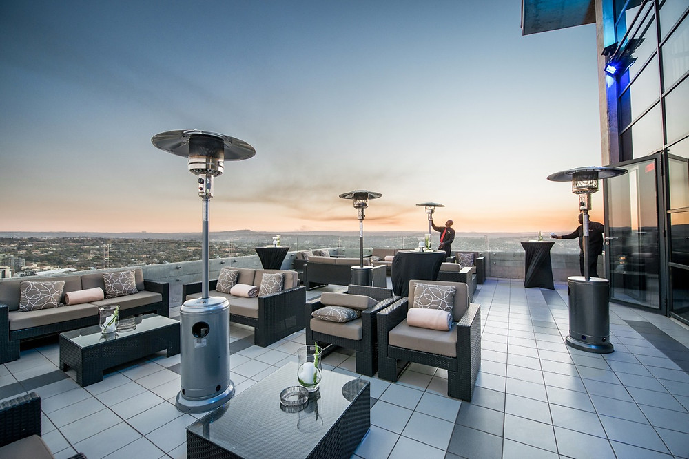 The Venue rooftop