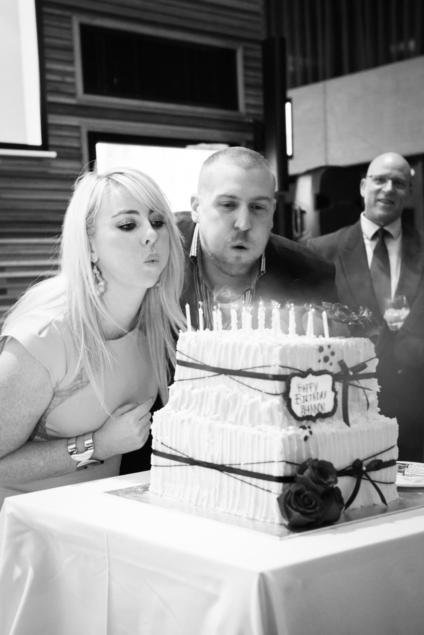 Shannons surprise birthday cake