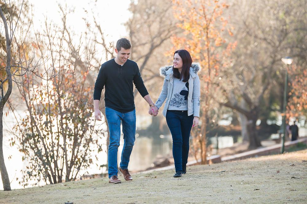 engagement shoots at Zoo Lake