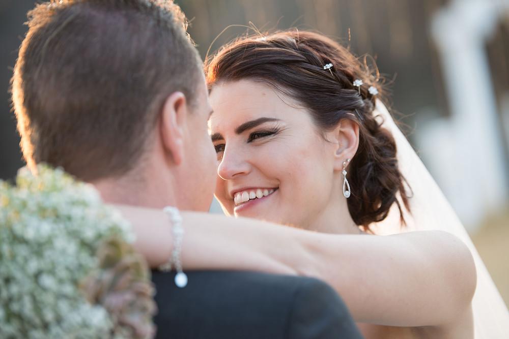 bridal hair and makeup photos