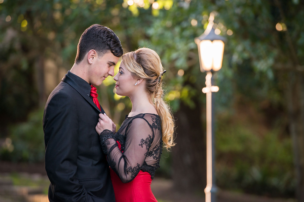 black and red lace matric farewell dress