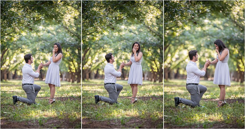 real engagement photo shoot