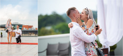 Roof top proposal at Melrose Arch