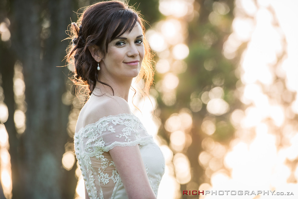 bridal portraits and wedding photography