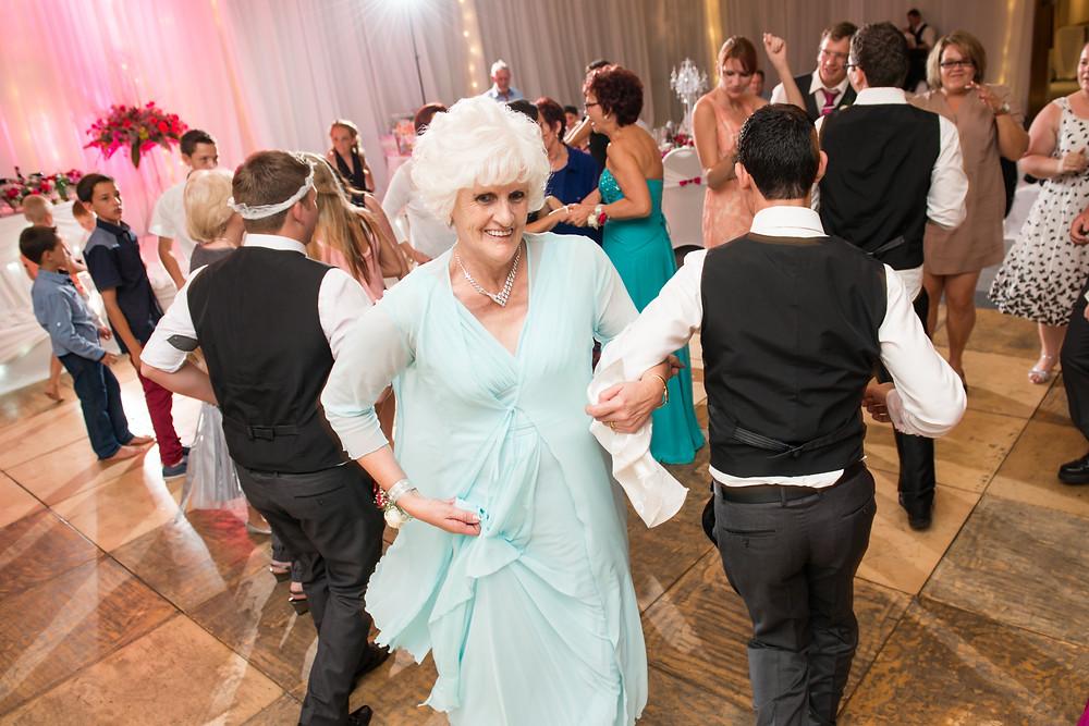 granny on the dancefloor