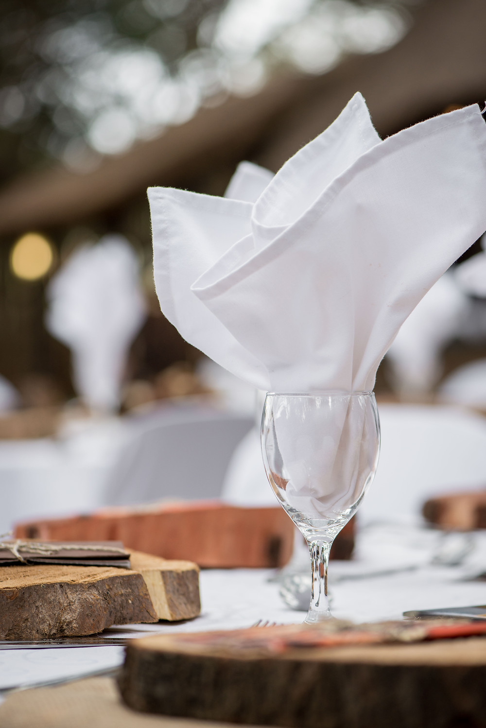 safari wedding decor