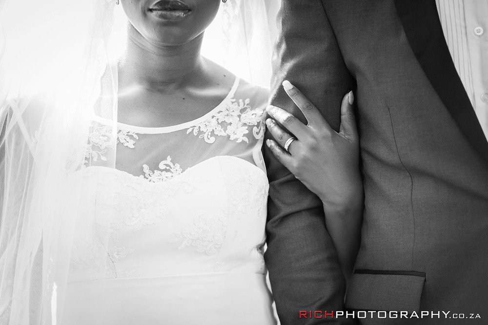 black and white wedding images