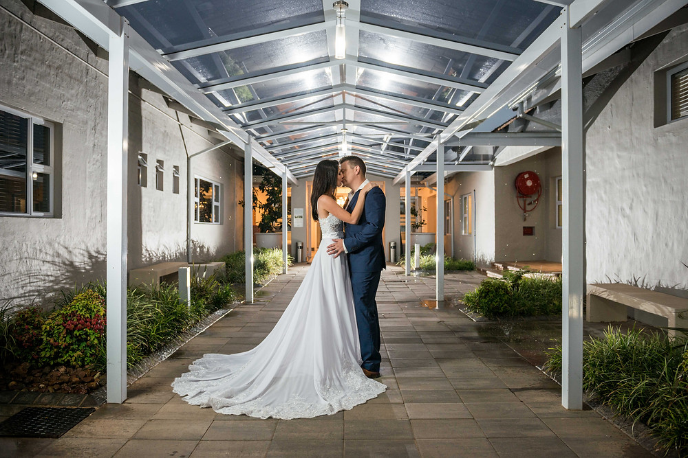 wedding photos at Bryanston Country Club