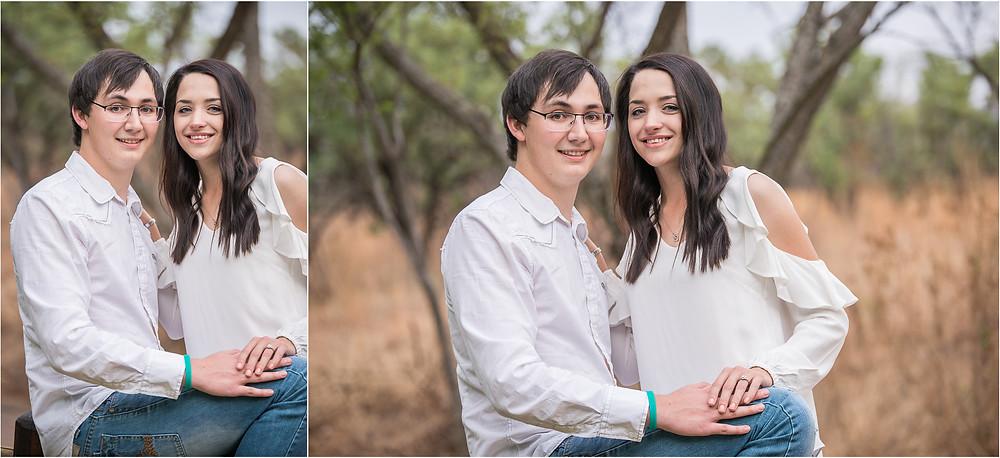 real proposal photo shoot