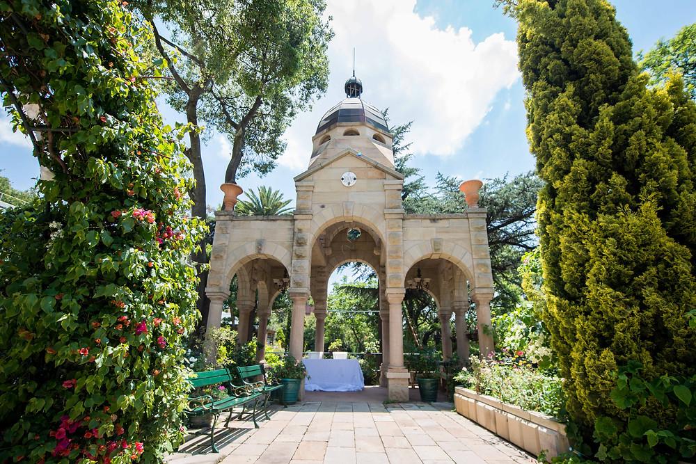 Shepstone Gardens wedding venue