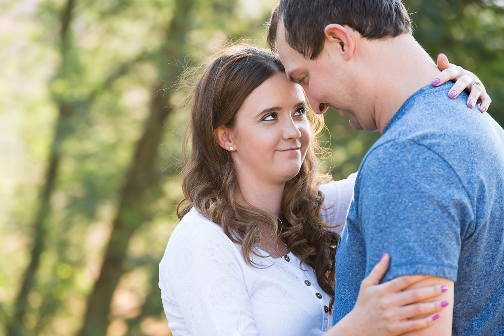 Wendy and Renier's engagement shoot