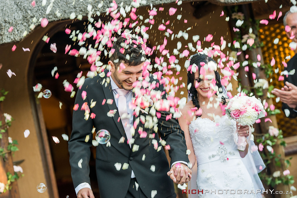 Confetti at Makiti Wedding Venue