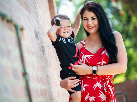 Michelle and Zack   Family Shoot at French Toast