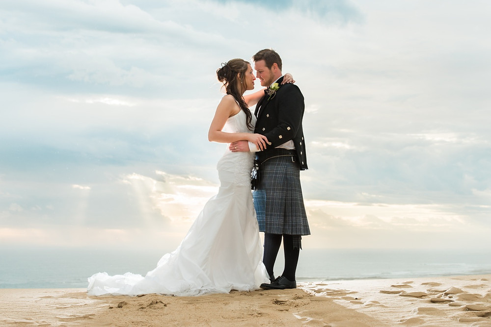 Elegant wedding photography