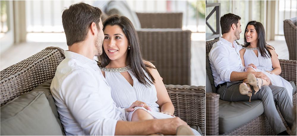 engagement shoot at green leaves country hotel