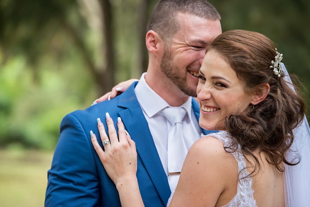 real wedding smiles