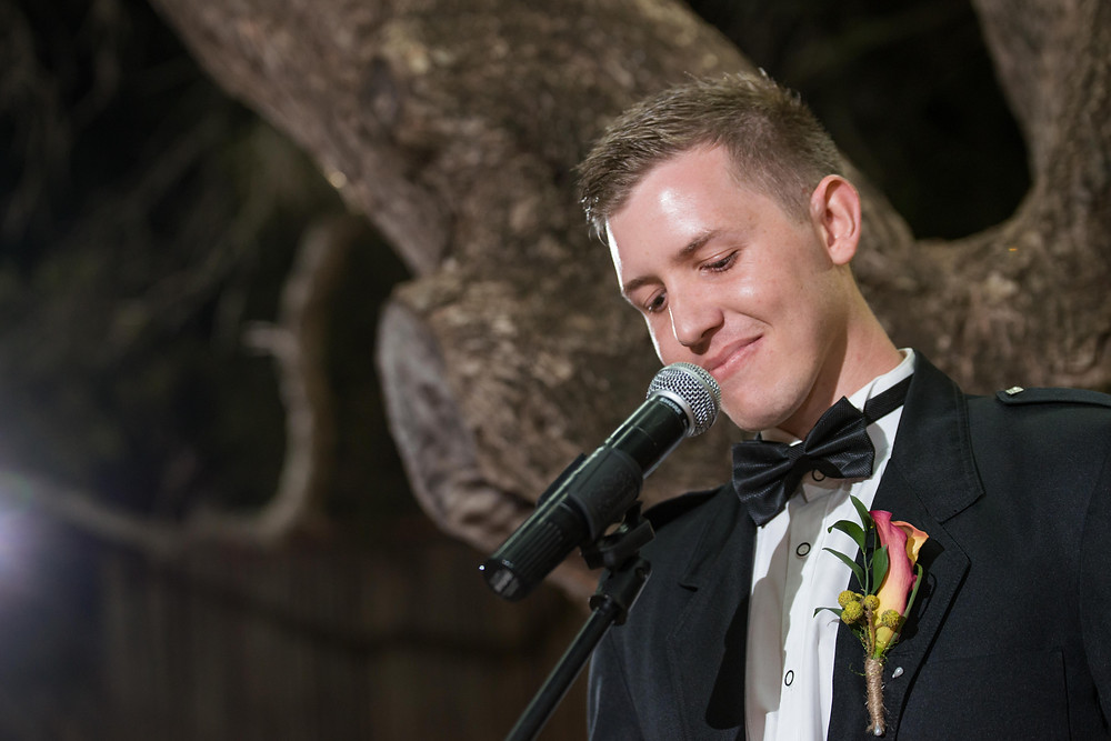 the grooms speech