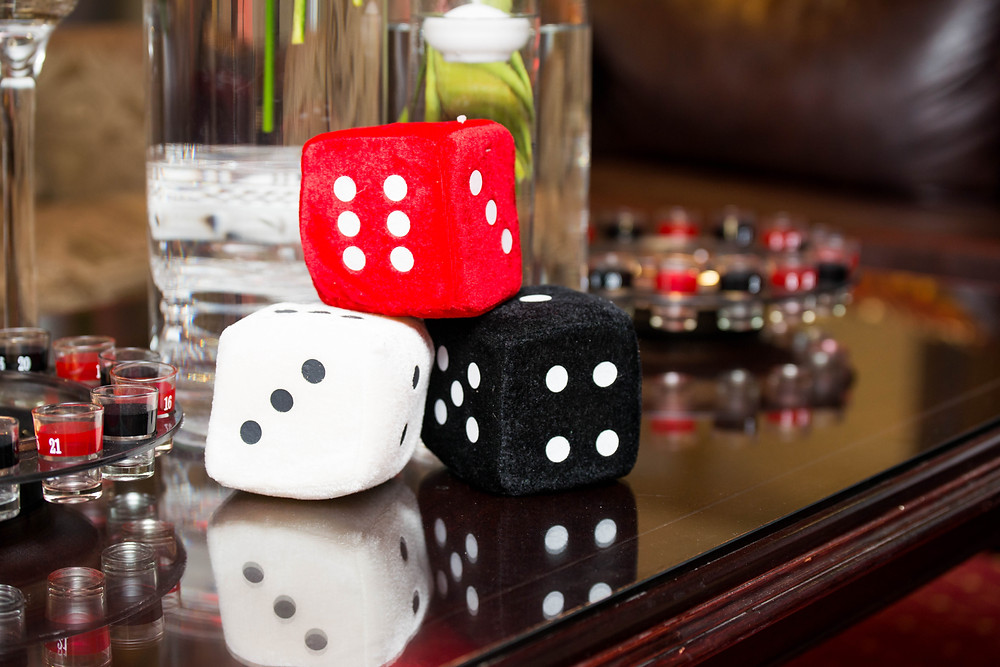 Casino dice party theme