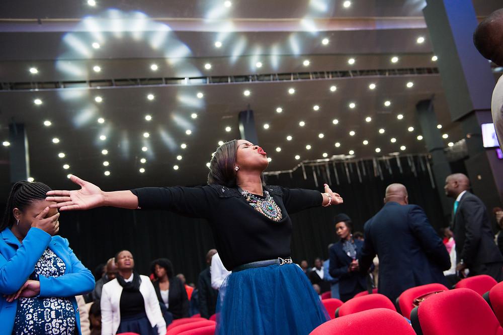 Church services in Johannesburg