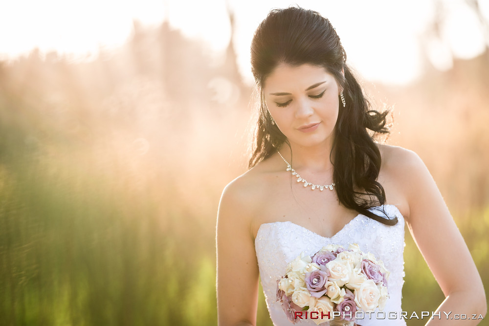 bridal portraits by Gauteng photographers