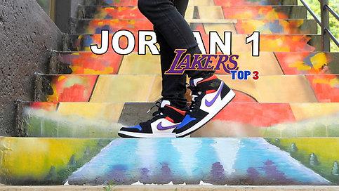 Air Jordan 1 Lakers Top3