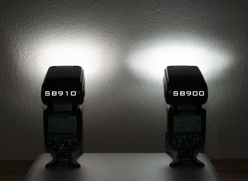 Nikon flash power test