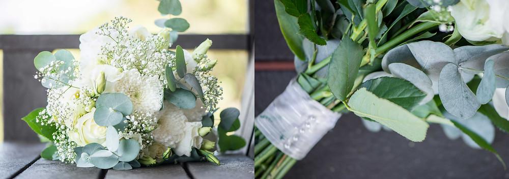 a more vintage wedding bouquet
