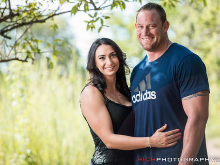 Shelly and Gareth's Engagement Shoot | Walter Sisulu Botanical Gardens