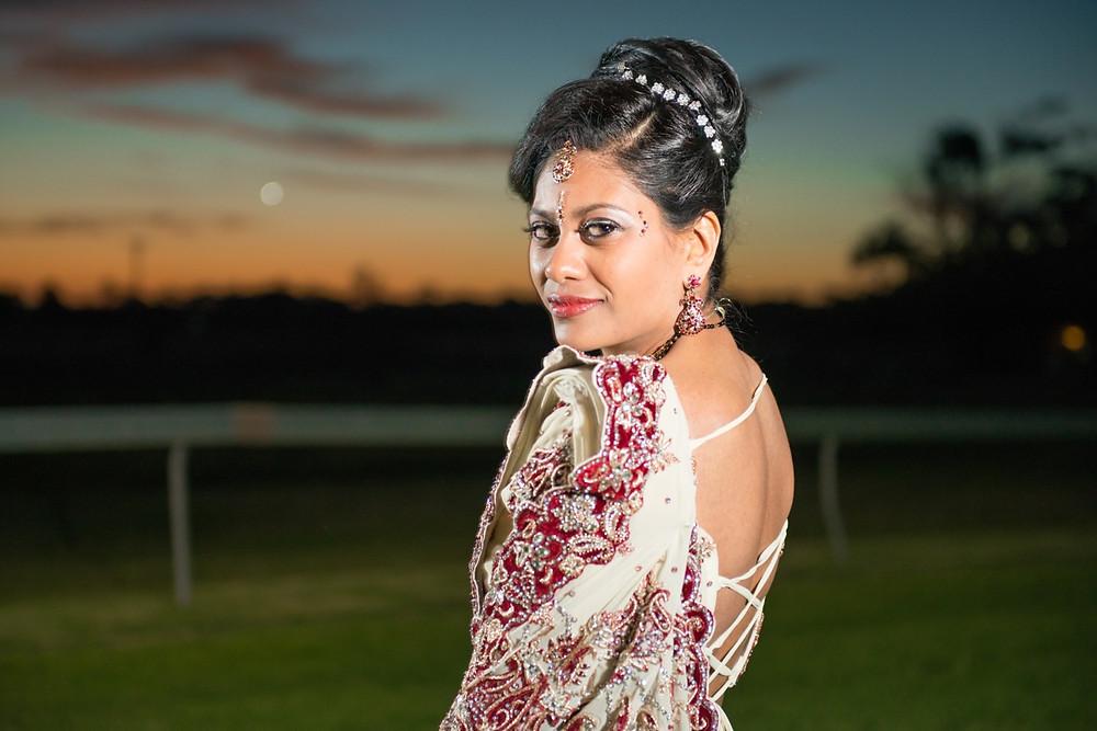 bridal portraits by Johannesburg wedding photographer