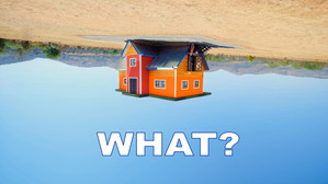 The Upside Down House in 4k