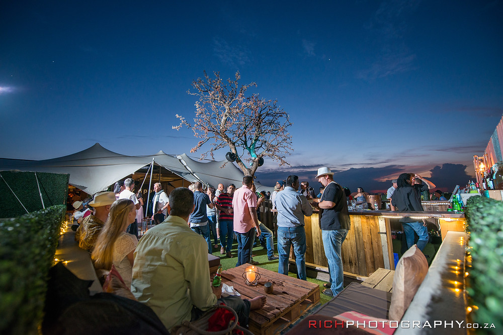 Roof top events in Johannesburg