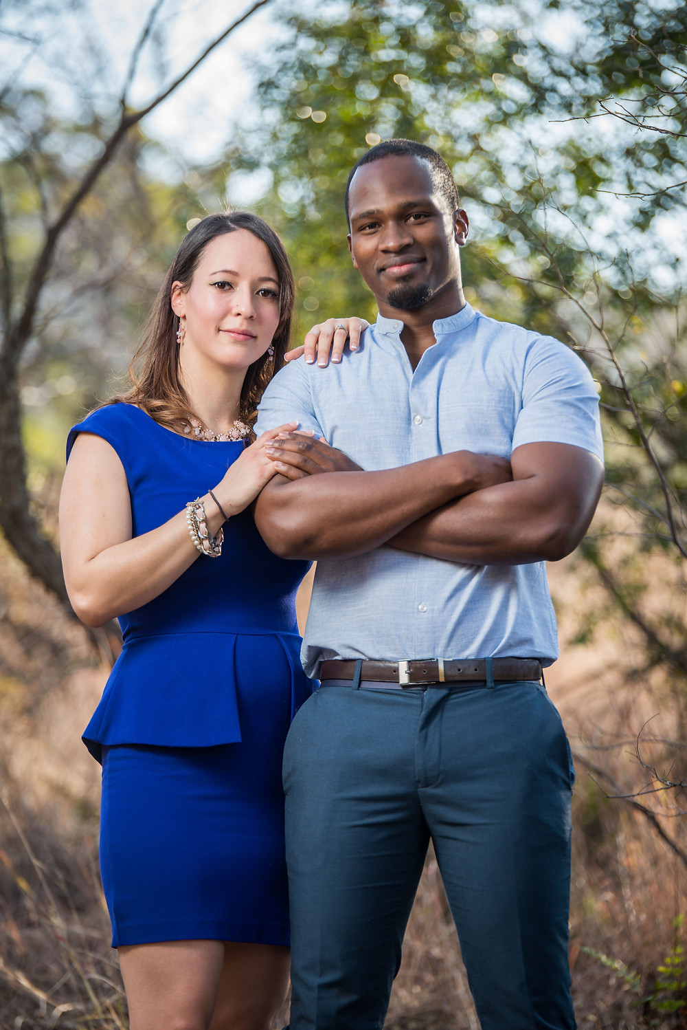 engagement shoot at Walter Sisulu Botanical Gardens
