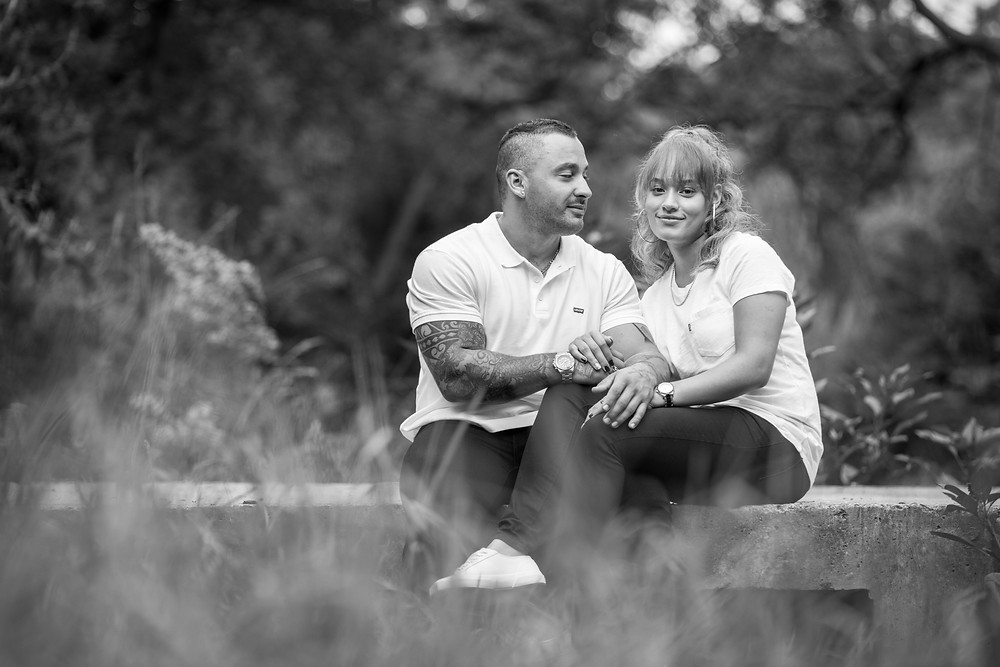 couple shoot at walter sisulu botanical gardens