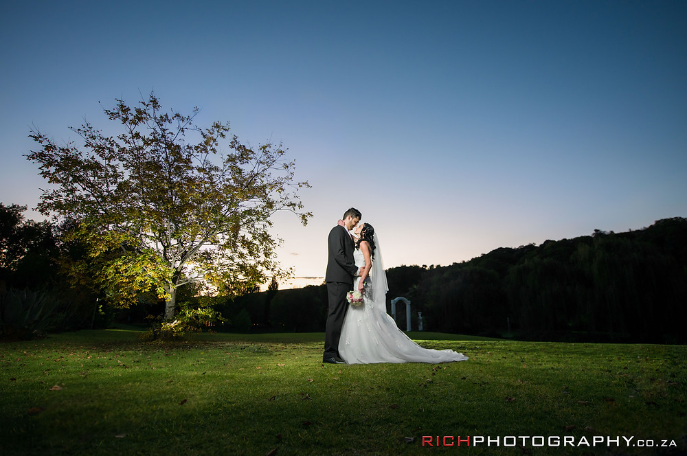 Artist wedding photography