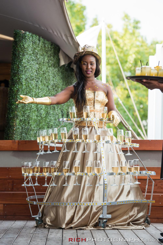 Event champagne ideas