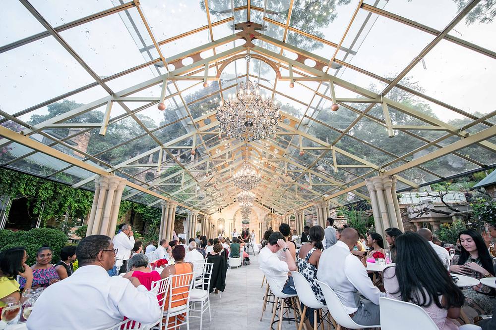 Shepstone Gardens glass roof